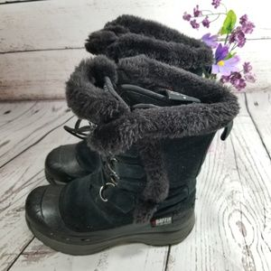 Baffin Women's Snow Black lace up Boots Size 8